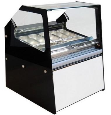 Vetrina gelato linea Metripolitan Emmelle Arredamenti